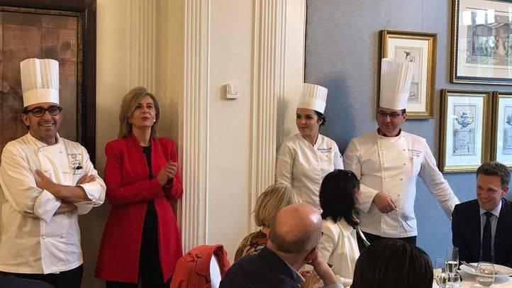 El chef de The Westin París-Vendôme, David Réal, presenta un menú especial en The Westin Palace Madrid con motivo de la Madrid Hotel Week
