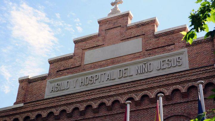 Fachada del hospital Niño Jesús.