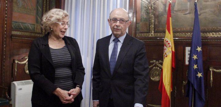 Hacienda aclara que están tutelando, no interviniendo, las cuentas del Ayuntamiento de Madrid
