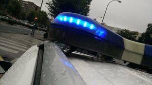 Coche patrulla de la Policía Local de Fuenlabrada