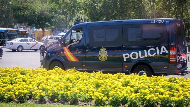 Foto de archivo de un furgón de la Policía Nacional.
