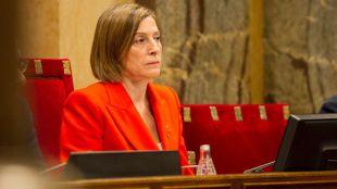 Forcadell y los miembros de la Mesa del Parlament declaran en el Supremo