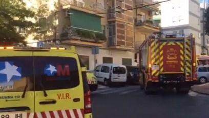 El incendio de una vivienda en Parla deja 15 heridos