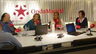 Mariola Vargas, alcaldesa de Collado Villalba y Cati Rodríguez, alcaldesa de San Fernando de Henares, en Com.Permiso en Onda Madrid