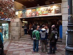 Madrid pierde otro cine: cierran las salas del Acteón