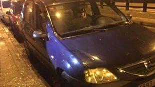 Pillado al robar un coche en Arganzuela
