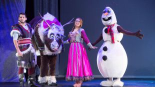 'La Reina de las Nieves' desembarca para los niños