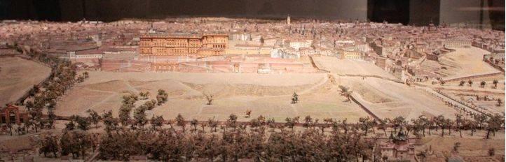 Maqueta del Madrid de 1830: el antecesor del 3D