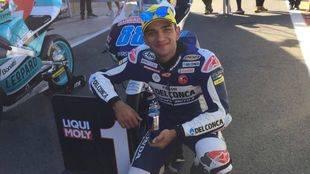 Jorge Martín, piloto de Moto3