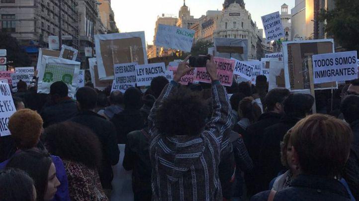Manifestación para derogar la Ley de Extranjería