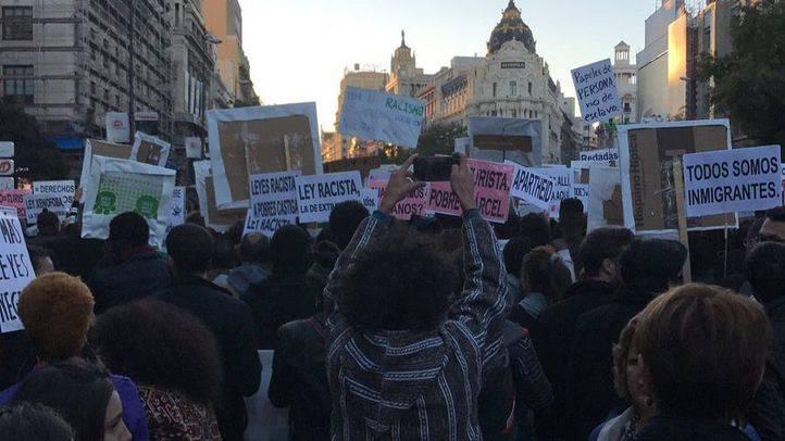Manifestación contra el racismo
