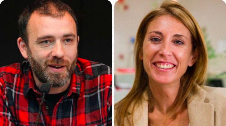 Nacho Murgui y Silvia Saavedra