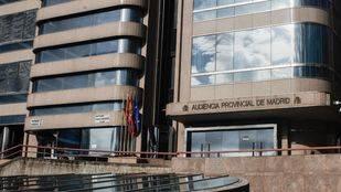 Audiencia Provincial de Madrid en la calle Santiago de Compostela número 96.