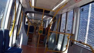 Interior de un Metro Ligero