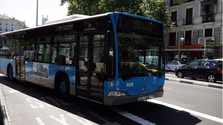 Autobús de la EMT. (Archivo)
