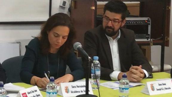 Sara Hernández y Álvaro Gómez