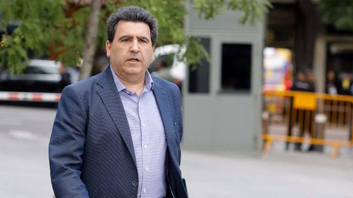 David Marjaliza a su llegada a la Audiencia Nacional para declarar por el caso Púnica.