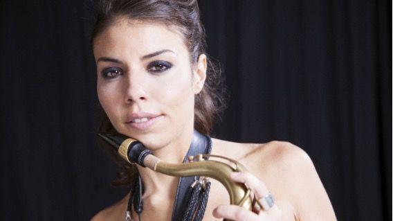 Una de las mejores saxofinista del mundo