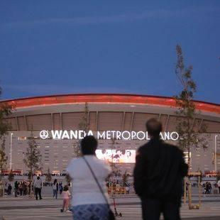 El Wanda Metropolitano acoge su primer derbi
