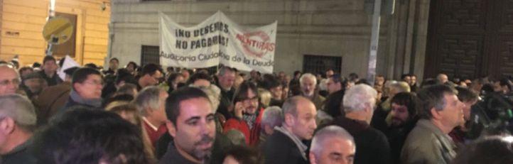 La tutela de las cuentas centra la protesta contra Hacienda