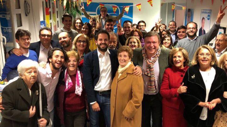 Rubén Maireles, elegido presidente del PP de Getafe