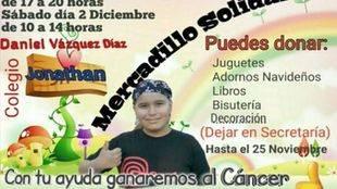 Mercadillo solidario en Collado Villalba