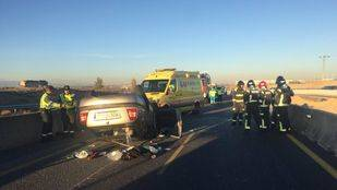 Accidente en la A5 a la altura de Móstoles