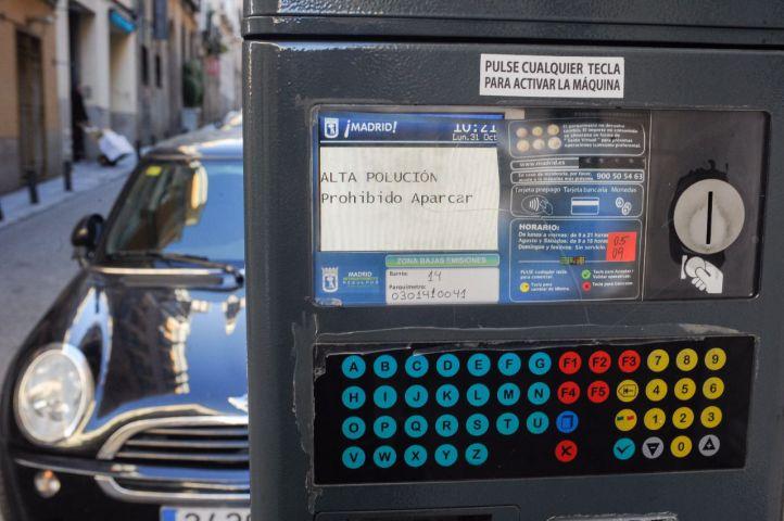 Velocidad limitada en M-30 y prohibición de aparcar en zona SER