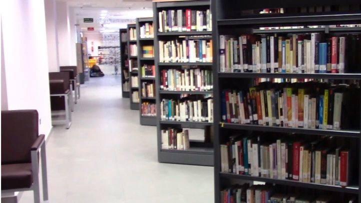 La biblioteca municipal Dos de Mayo'