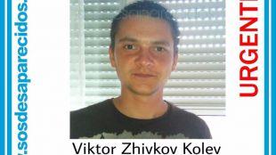 Viktor Zhikov, desaparecido en Getafe el 16 de noviembre.