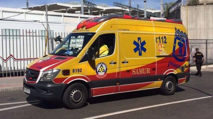 Herido grave tras colisionar con un coche