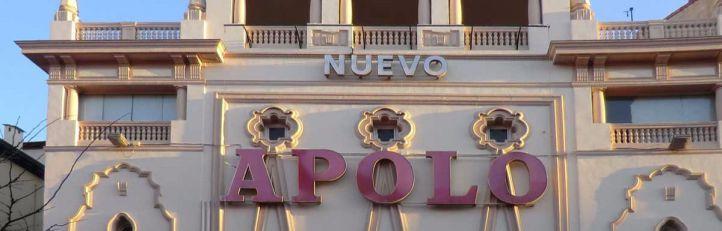 Fachada del Teatro Nuevo Apolo.