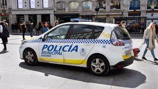 Vehículo de la Policía Municipal