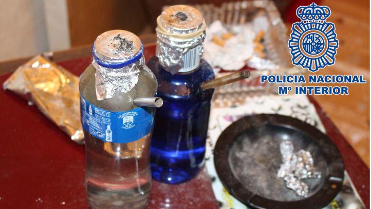 La Policía ha detenido a un grupo organizado dedicado al tráfico de drogas a pequeña escala