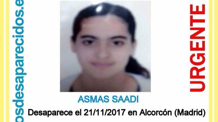 Menor desaparecida en Alcorcón
