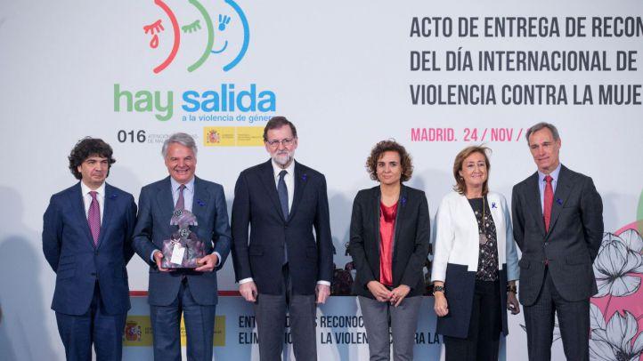 """La Fundación Mutua recibe del Gobierno su reconocimiento por la campaña """"Tolerancia Cero"""" contra la violencia de género"""