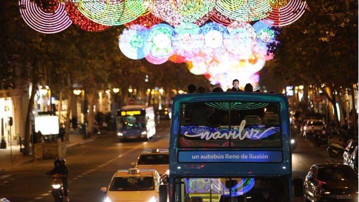 Alumbrado navideño de Madrid.