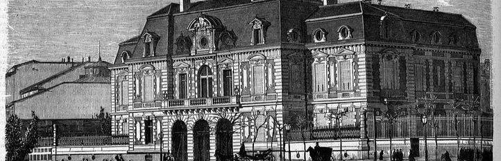 Un palacio con tres nombres que 'echó' fuego hace cien años