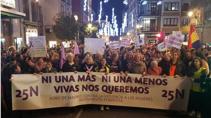 'Yo sí te creo', así fue la marcha contra la violencia machista