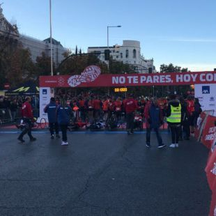Madrid acoge la IX carrera 'Ponle Freno'