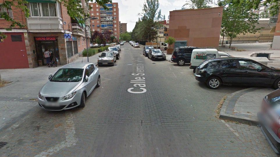 Calle Sierra Estrella donde han desmantelado los 'narcopisos'