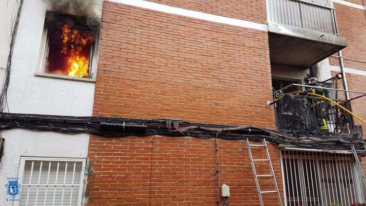 Incendio en El Pilar