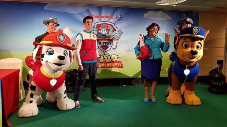 Llega a España la gira oficial de La Patrulla Canina