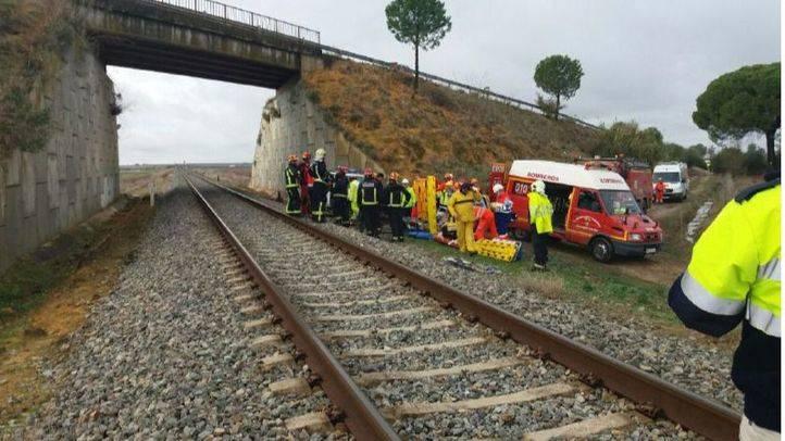 Descarrilamiento de un tren de pasajeros