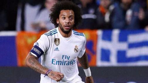 Marcelo, futbolista del Real Madrid.