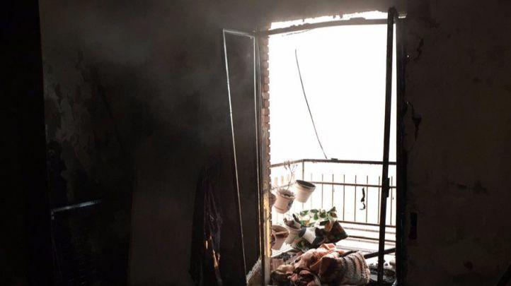 Grave tras incendiarse su casa en Pinar del Rey