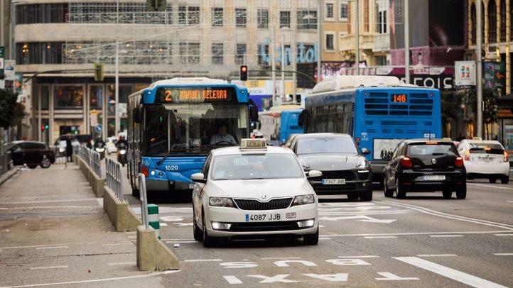 Gran Vía limita el tráfico a dos carriles por sentido desde este viernes
