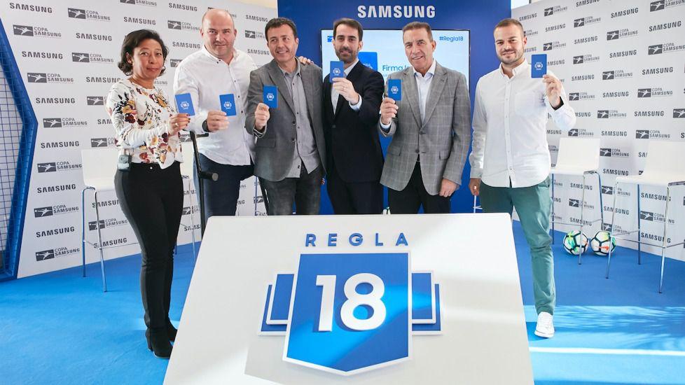 Samsung impulsa la Regla 18 a través de la Copa Samsung