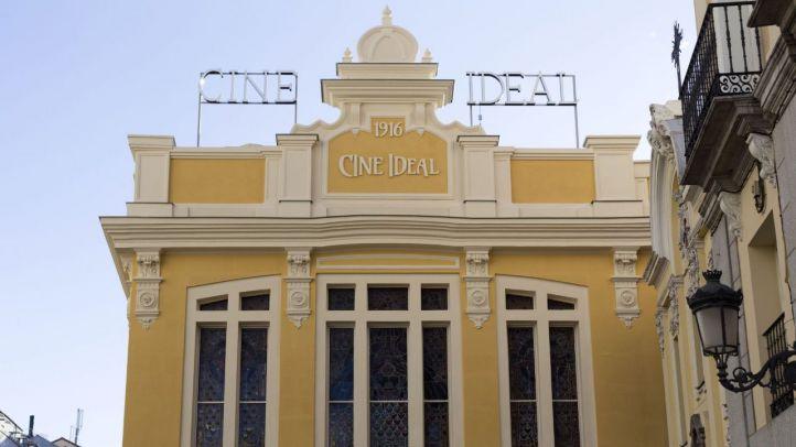 Los cines Ideal reabren sus puertas tras siete meses cerrados