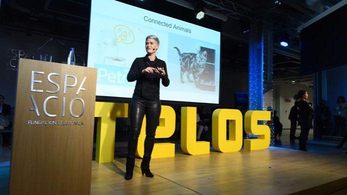 Amber Case, en el relanzamiento de la revista Telos de Fundación Telefónica